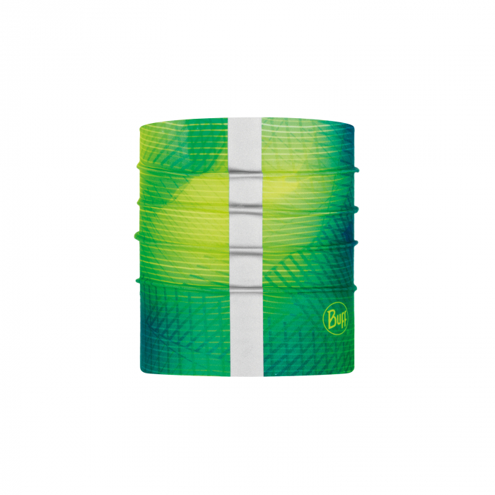 Dog BUFF® R-SPIRAL YELLOW FLUOR S/M 0