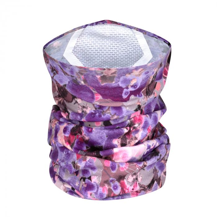 Filter Tube Mask adult MAGALY violet 3