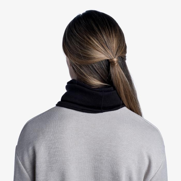 Heavy Weight merino wool Solid black [2]