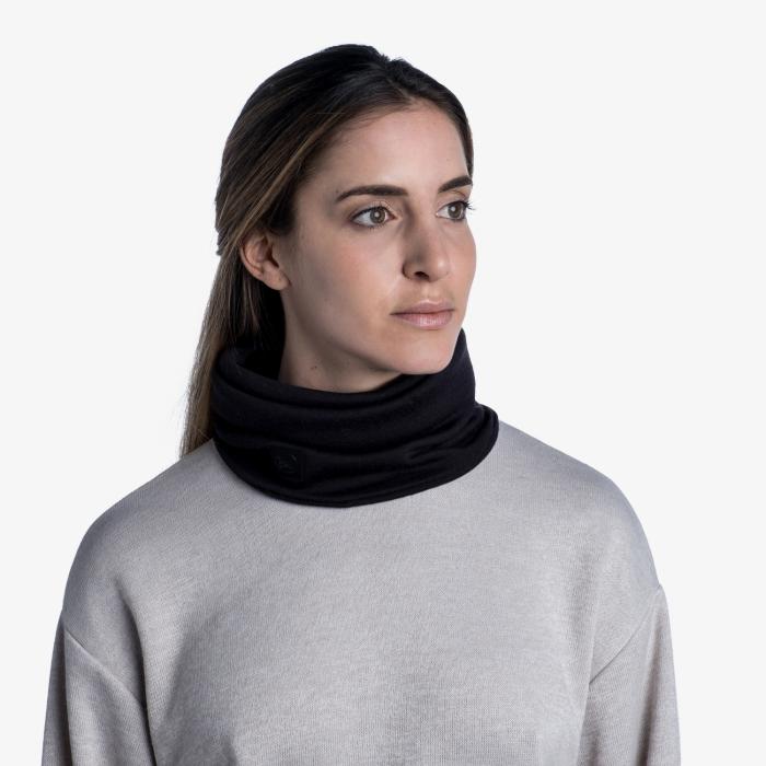 Heavy Weight merino wool Solid black [1]