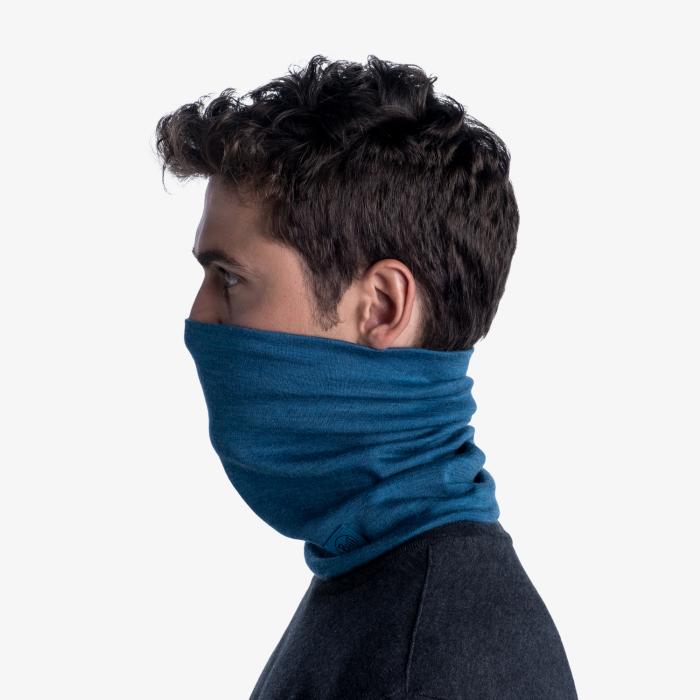 Heavy Weight merino wool Solid dusty blue [4]