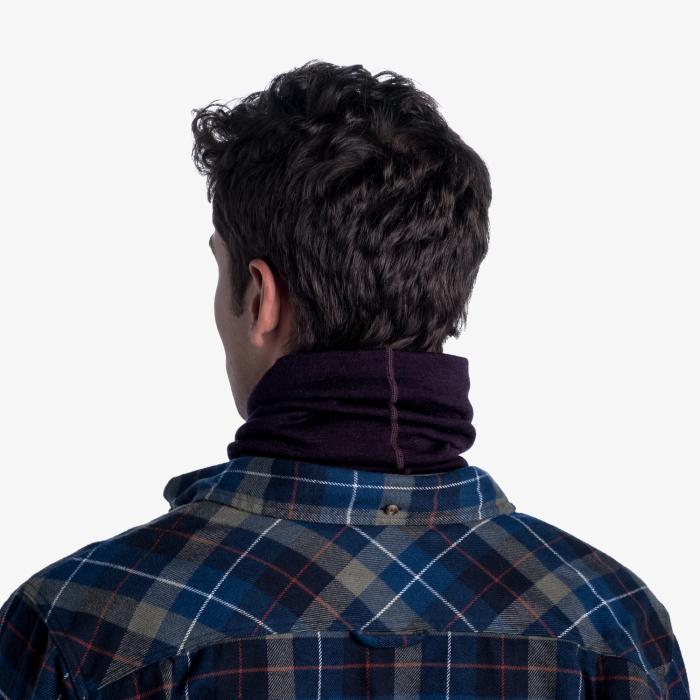 Heavy Weight merino wool Solid deep purple [7]