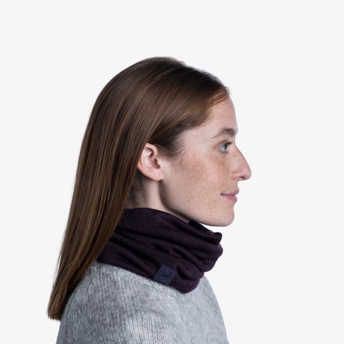 Heavy Weight merino wool Solid deep purple [3]