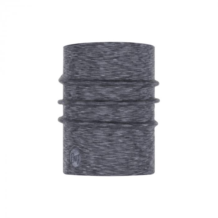 Heavy Weight merino wool FOG grey multi stripes 1