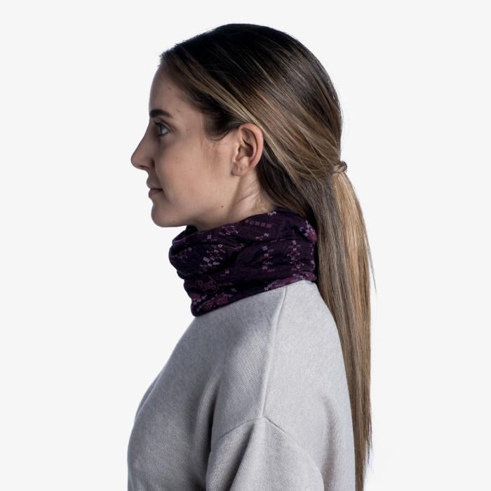 Light Weight merino wool FRIEZE deep purple [2]