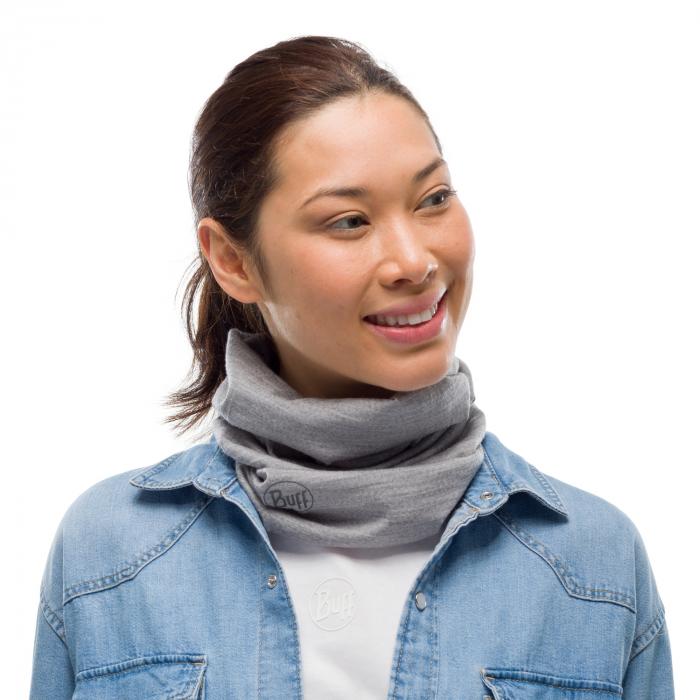 Light Weight merino wool SOLID Light grey 1
