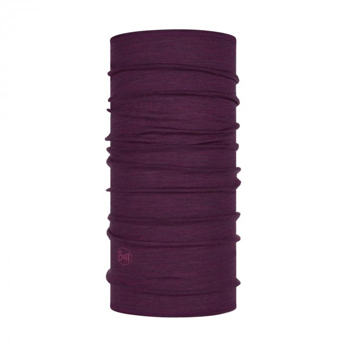 Light Weight merino wool PURPLISH Multi stripes 0