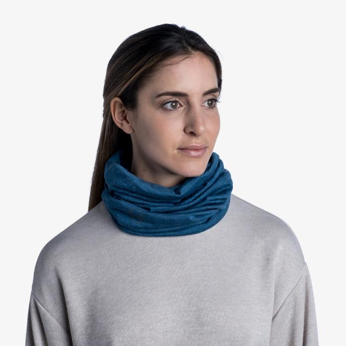 Light Weight merino wool SOLID dusty blue [2]