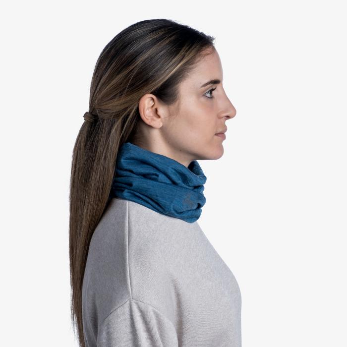 Light Weight merino wool SOLID dusty blue [1]
