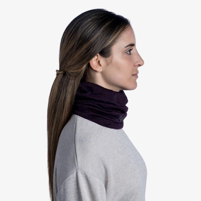 Light Weight merino wool SOLID deep purple [2]
