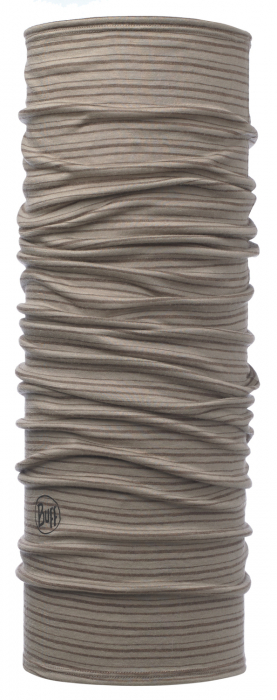 LIGHTWEIGHT MERINO WOOL WALNUT BROWN STRIPES 0