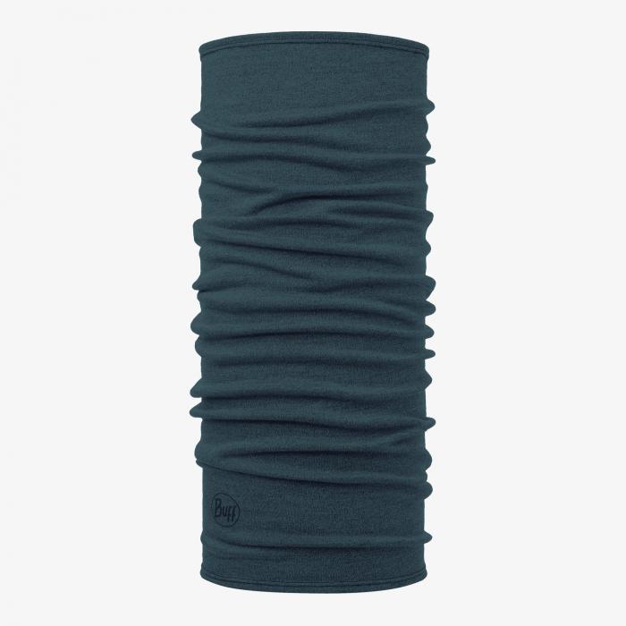 Mid Weight merino wool DUSTY blue melange [0]