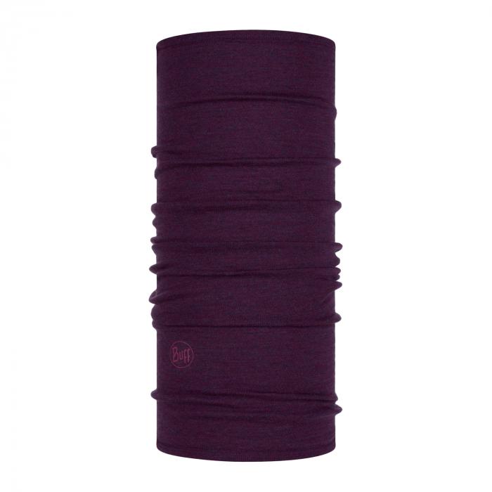 Mid Weight merino wool purplish melange 1