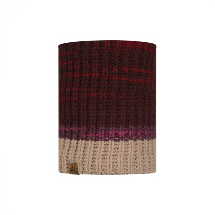 Neckwarmer knitted polar ALINA Maroon 0