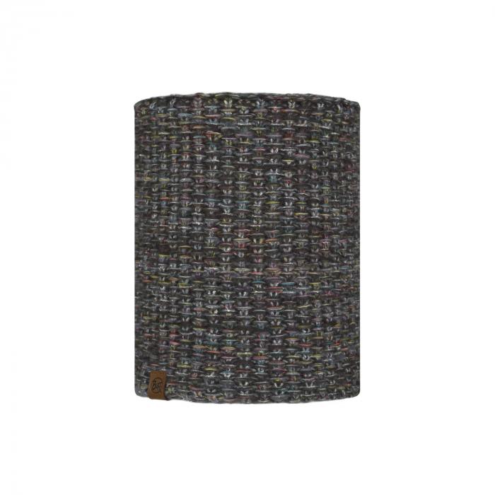 Neckwarmer knitted polar GRETE Grey castlerock 0