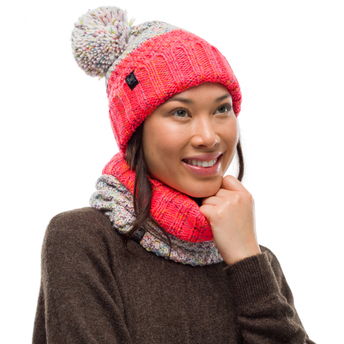 Neckwarmer knitted polar JANNA Cloud 2