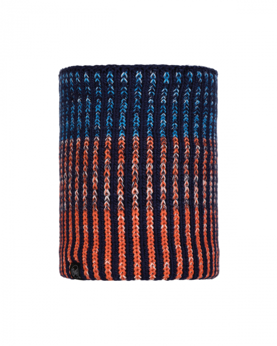 NECKWARMER KNITTED POLAR IVER MEDIEVAL BLUE 0