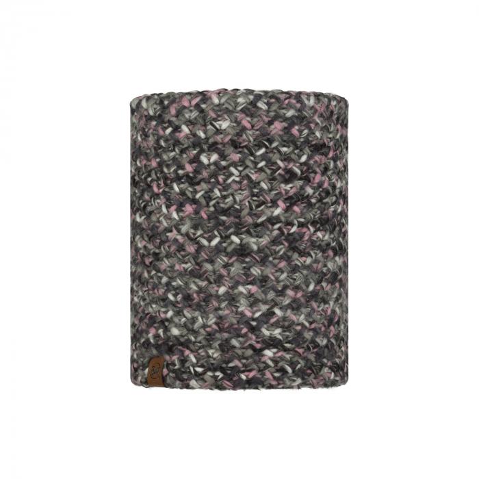Neckwarmer knitted polar MARGO Castlerock grey 0