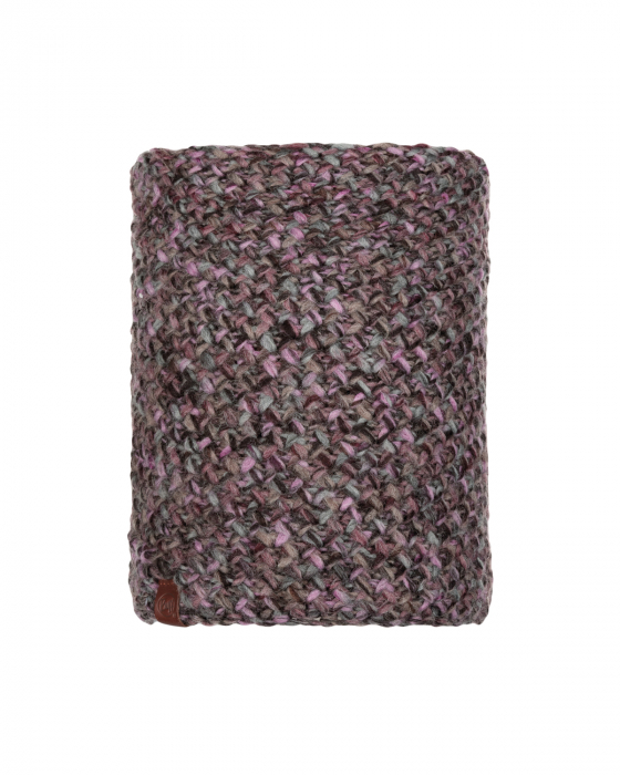 NECKWARMER KNITTED POLAR MARGO PLUM 0