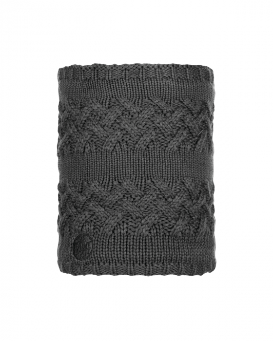 NECKWARMER KNITTED POLAR SAVVA GREY CASTLEROCK 0