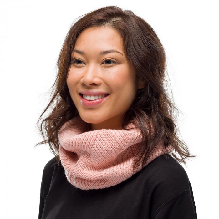 Neckwarmer knitted polar RAISA Rose 1