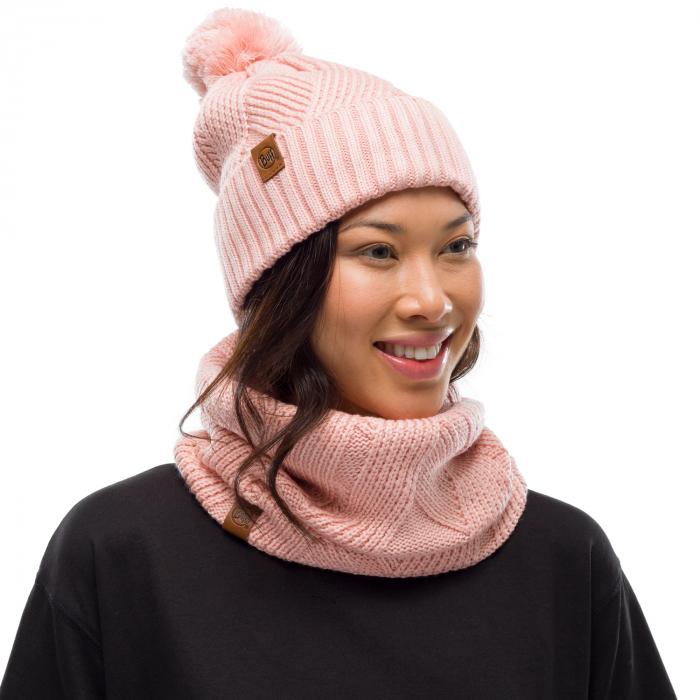 Neckwarmer knitted polar RAISA Rose 2
