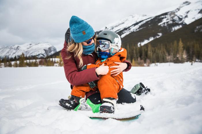 Neckwarmer Polar Reversible pentru copii High Mountain Blue [2]