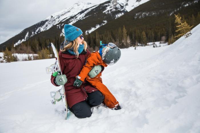 Neckwarmer Polar Reversible pentru copii High Mountain Blue [3]