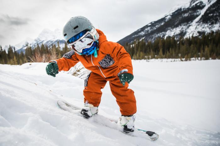 Neckwarmer Polar Reversible pentru copii High Mountain Blue [6]