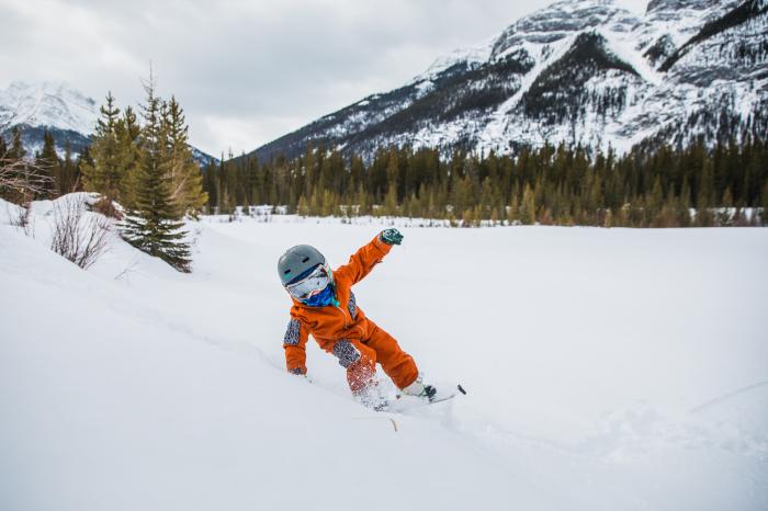 Neckwarmer Polar Reversible pentru copii High Mountain Blue [5]