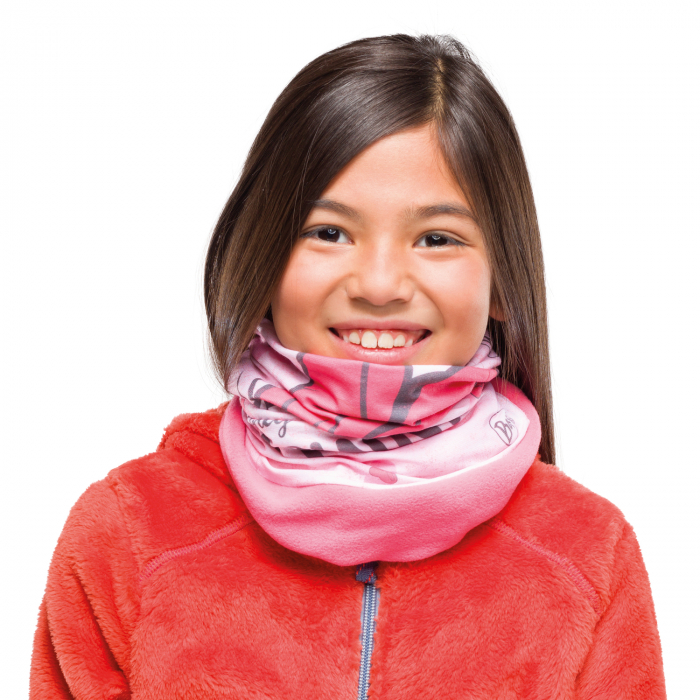 POLAR JUNIOR BUFF® DISNEY MINNIE YOO-HOO PALE PINK 1