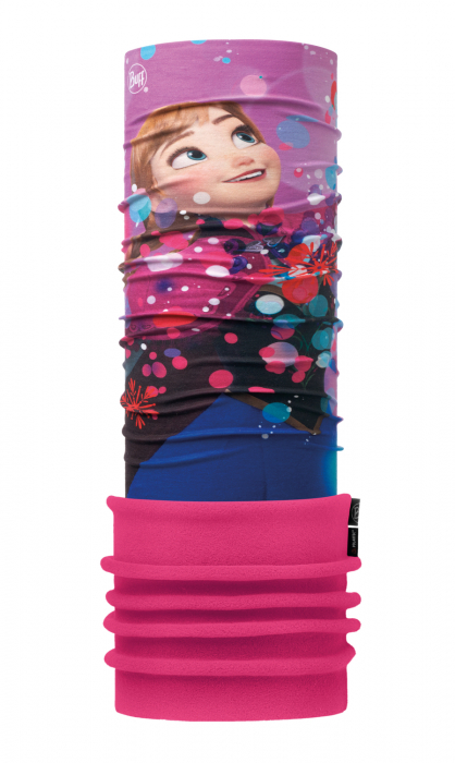 POLAR JUNIOR BUFF® FROZEN ANNA BRIGHT PINK 0