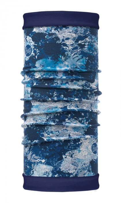 Reversible Polar WINTER GARDEN blue 0