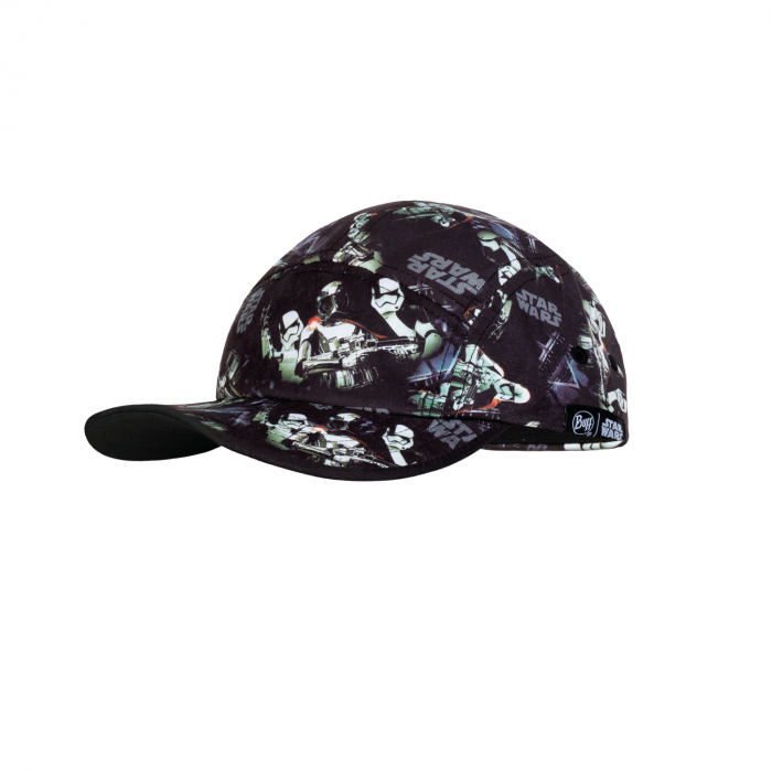 Sapca KIDS 5 PANELS STAR WARS FIRST ORDER BLACK 0