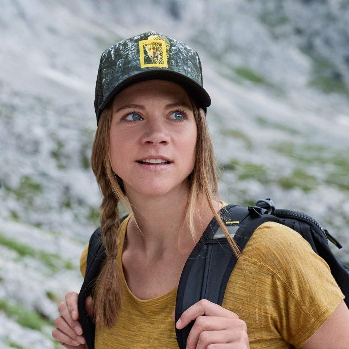 Sapca TRUCKER National Geographic HOWEY Black L/XL [2]