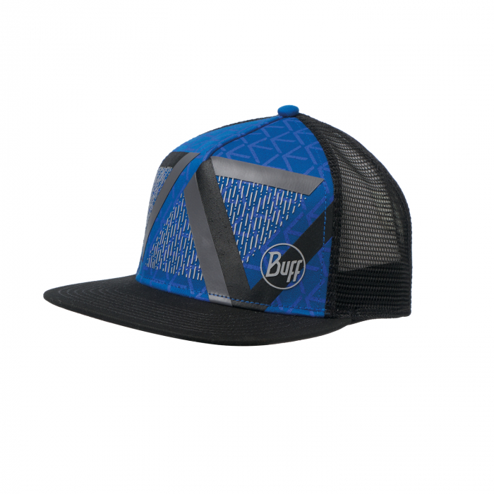 Sapca BUFF TRUCKER OPTIC BLOCK CAPE BLUE 0