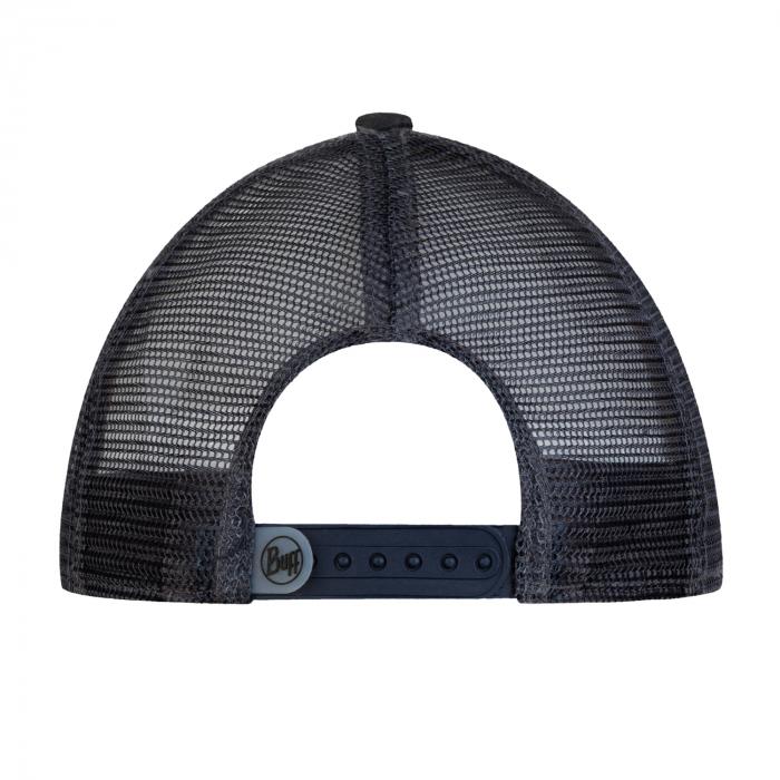 TRUCKER FLAT CAP ZEST GREY 3