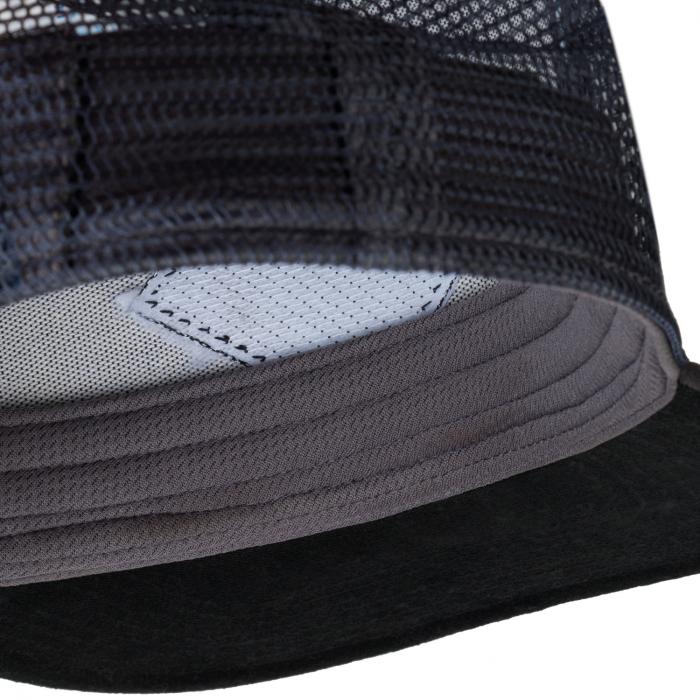 TRUCKER FLAT CAP ZEST GREY 2