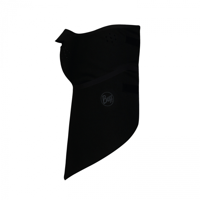 Windproof bandana SOLID BLACK 1