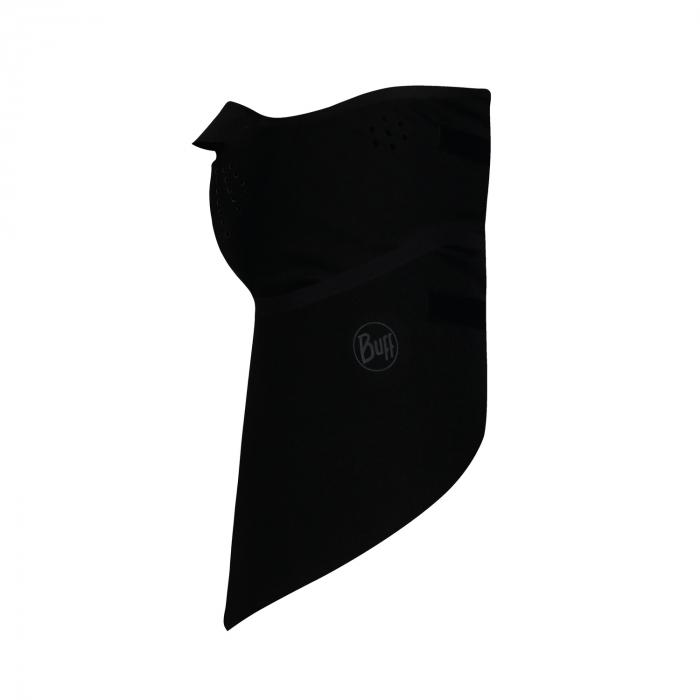 Windproof bandana SOLID BLACK 1