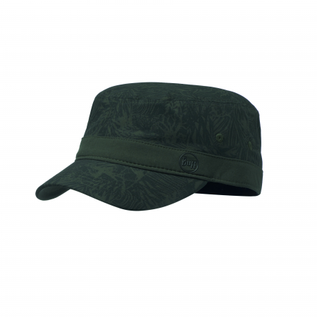 MILITARY CAP CHECKBOARD MOSS GREEN S/M0