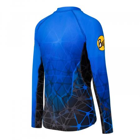 Bluza barbati ATEN L/S T-SHIRT Athen blue1
