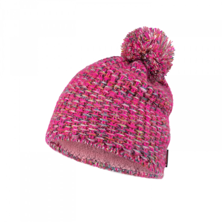 Caciula knitted polar GRETE Pink1