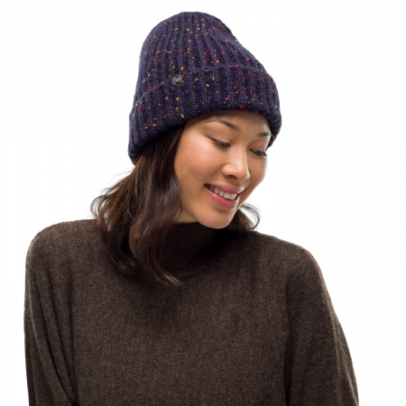 Caciula knitted polar KIM Night blue0