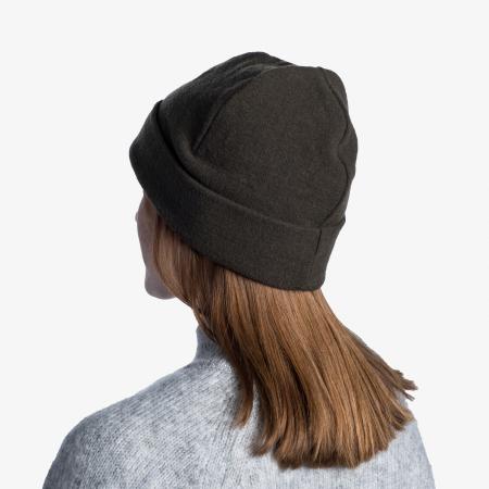 Caciula Merino Fleece Solid khaki [3]