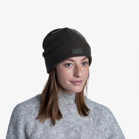 Caciula Merino Fleece Solid khaki [1]