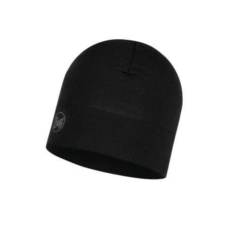 Caciula midweight merino wool Solid black2