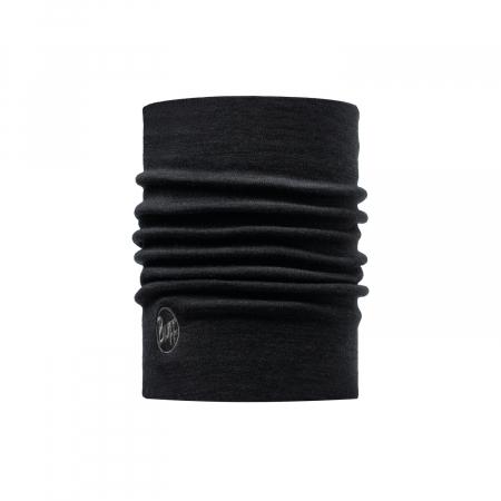 Heavy Weight merino wool Solid black [0]