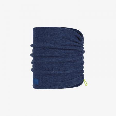 Merino fleece neckwarmer Solid azure [0]