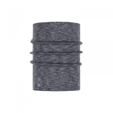 Heavy Weight merino wool FOG grey multi stripes1